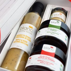 cadeau corporatif gourmet variété 2 sirop d'érable bio