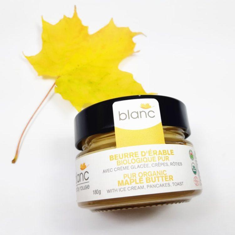beurre d'érable biologique maple butter organic