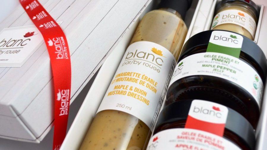 cadeaux corporatifs blanc gourmets sirop d'érable bio