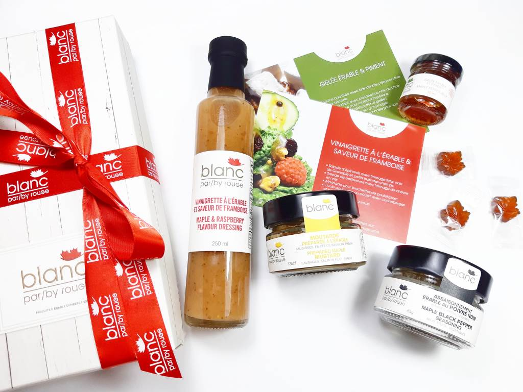 Maple gift set the canadian gourmet