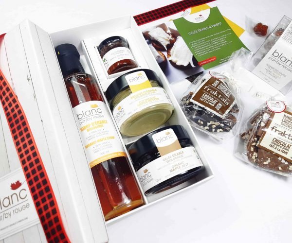 Sugar shack at home 'The family' maple gift set