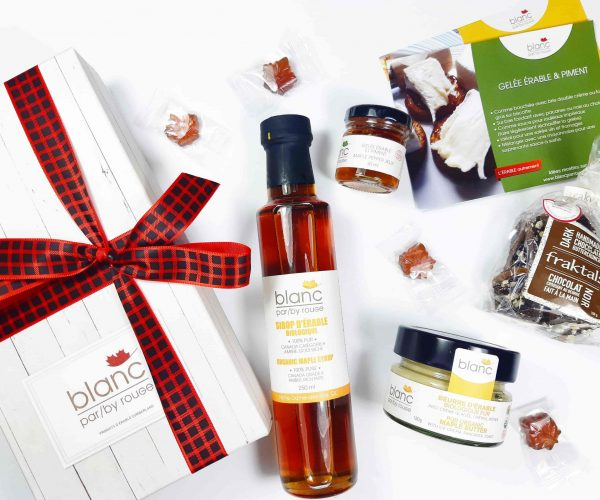 Sugar shack at home 'The Traditional' maple gift set