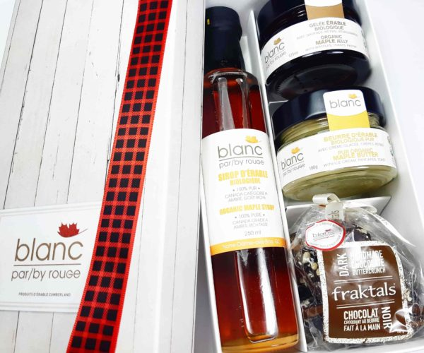 Sugar shack at home 'The Traditional 2' maple gift set
