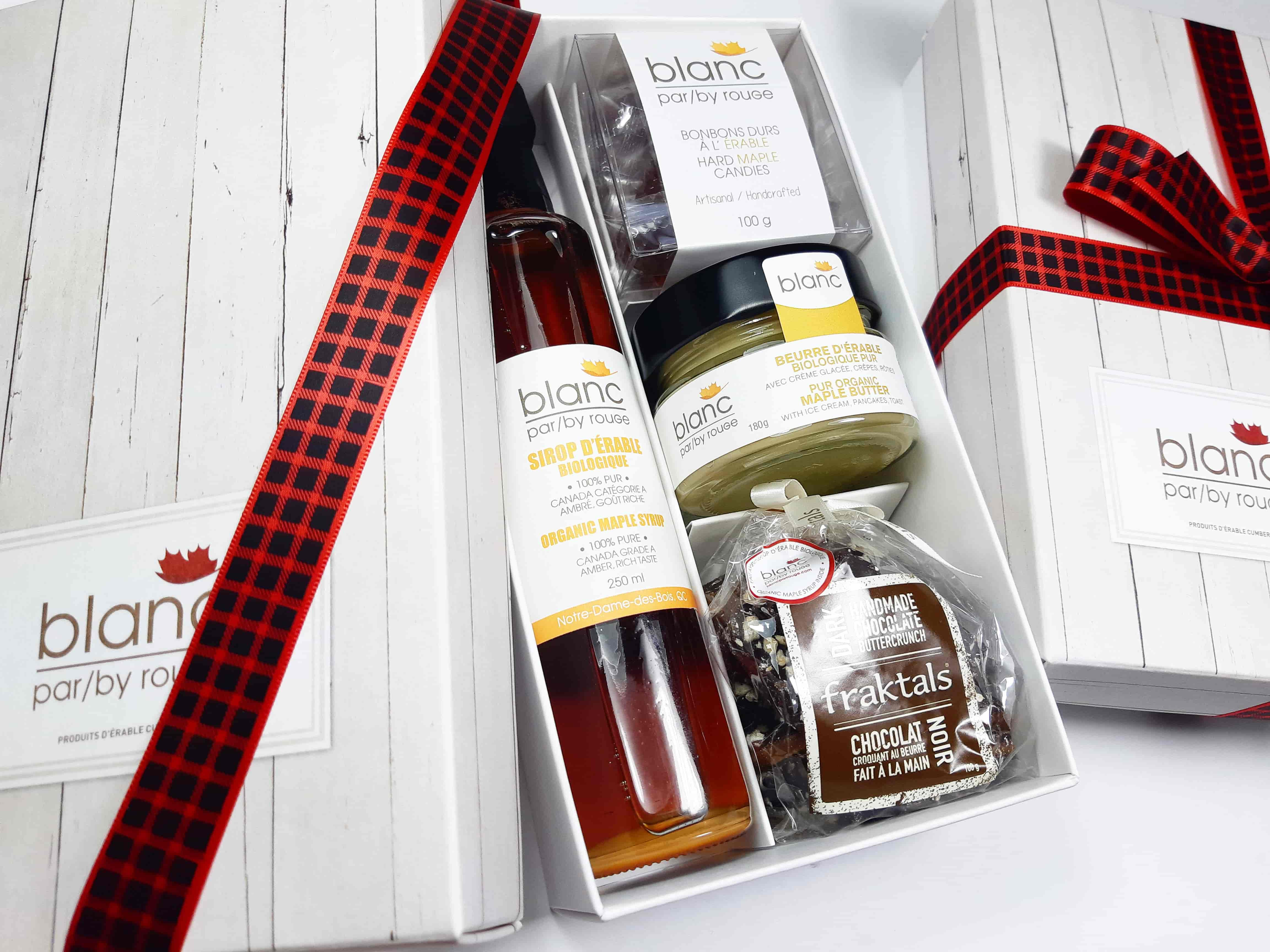 Sugar shack at home 'The Traditional 3' maple gift box