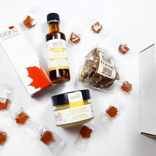 boite surprise gourmand erable - cadeau corporatif