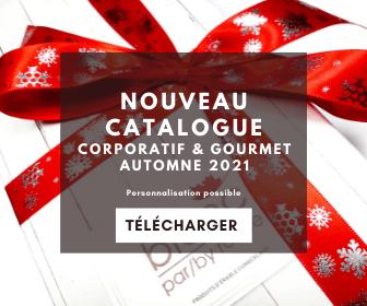 Catalogue corporatif & gourmet Automne 2021-2022
